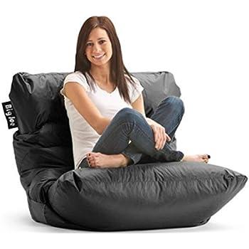 Amazon Com Big Joe Original Bean Bag Chair Sapphire