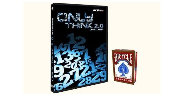 Jean-Pierre Vallarino Only Think 2.0 (DVD + Cartas) (Rojo ...
