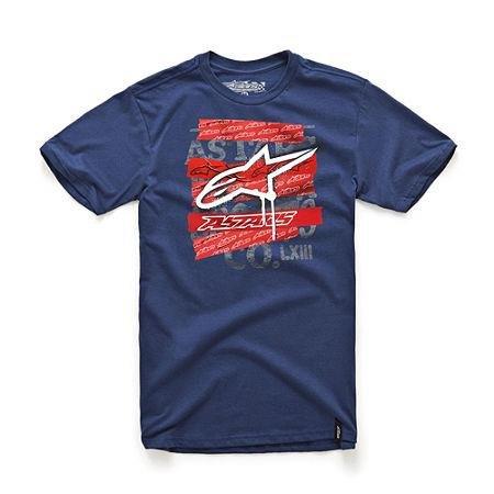 Alpinestars Cover Up T-Shirt , Gender: Mens/Unisex, Distinct Name: Blue, Primary Color: Blue, Size: XL 10337600270XL