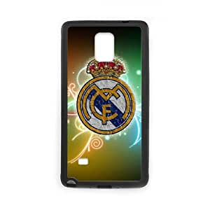 Samsung Galaxy Note 4 Cell Phone Case Black Real Madrid as a gift J2295708