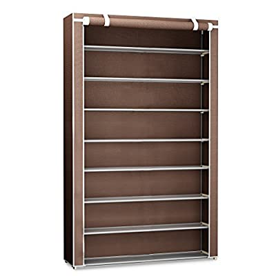 48 Pairs Shoe Rack Organizer Storage Bench   Organize Your Closet Cabinet  Or Entryway   Easy To Assemble   No Tools Required