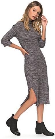 Vestido ajustado de manga larga de oto ntilde;o para mujer de Roxy