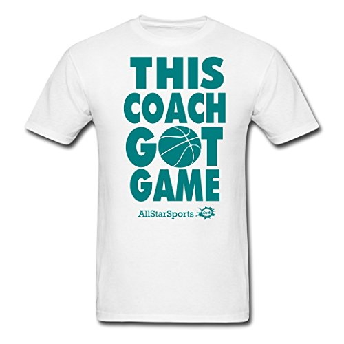 Men's THIS COACH GOT GAME For Customize T-Shirts White - Cheap Coach Outlet