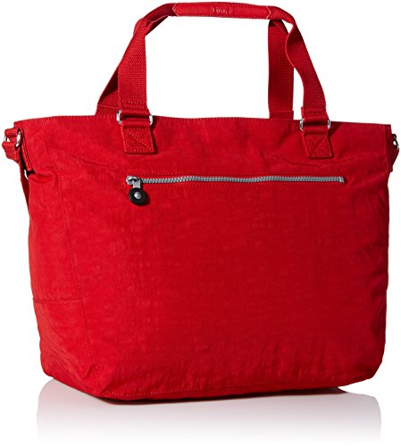Kipling Maxwell Tote Femmes Rouge Sac shopping