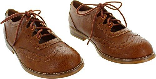 Rocket Dog  Melody Sierras Pu, Chaussures de ville à lacets pour femme marron marron