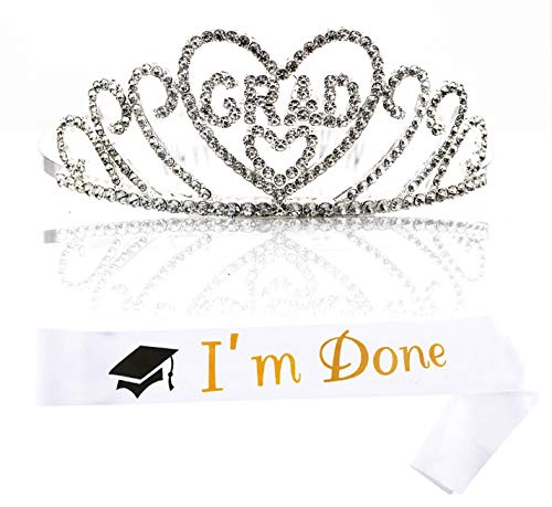 Graduation Tiara and Sash