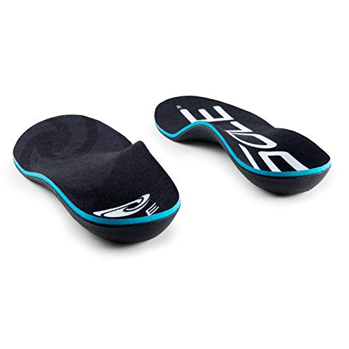 SOLE Active Thick High Volume Footbed Insoles, Mens Size 7 / Womens Size 9 Black by Sole (Image #3)