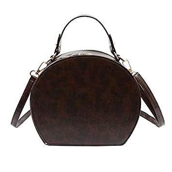 QYYDDJB Vintage PU Leather Animal Pattern Saddle Bags For