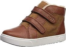 UGG Baby RENNON II Sneaker, Chestnut, 9 M US Toddler