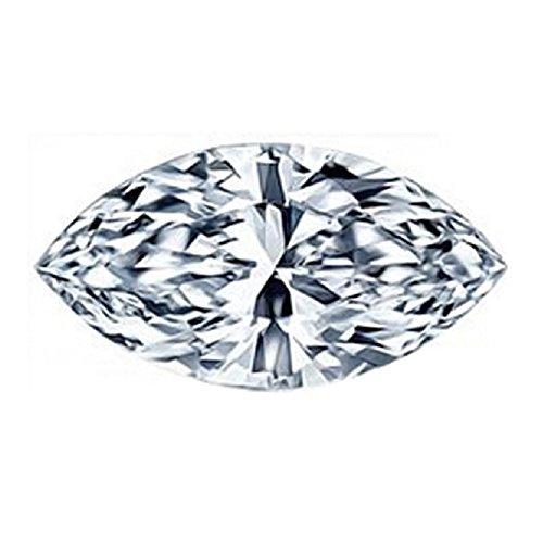 Glitz Design Certified Loose Diamond 1.16 ct J VS1 Marquise Cut Diamond by GIA
