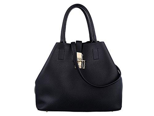 Valentine's Sale TZECHO Women Top Handle Satchel Handbags,Zip Closure Tote Shoulder Bag