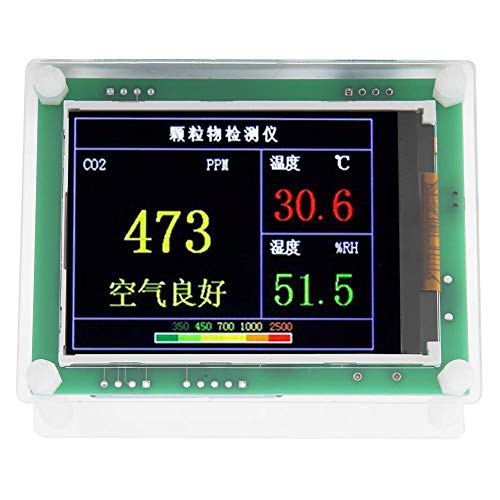 A3 2.8in USB Digital TFT Display PM2.5 Formaldehyde Humidity Air Quality Detector Monitor Air Quality Monitor Formaldehyde Detector / A3 2.8in USB Digital TFT Display PM2.5 Formaldehyde Humidity Air Quality Detector Monitor Air Qua...