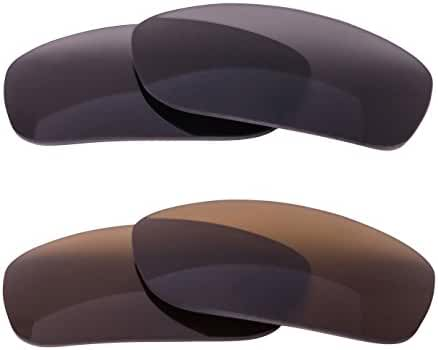 LenzFlip Replacement Lenses for Oakley FIVES SQUARED - Multiple Options