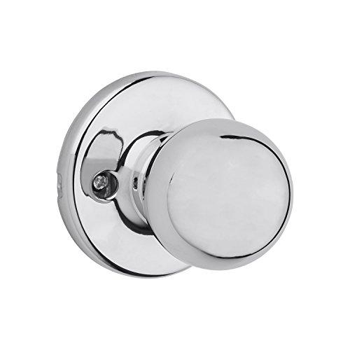 Polished Polo Chrome - Kwikset 92001-559 Polo Passage Hall/Closet Knob In Polished Chrome