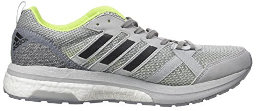 Adidas Herren Adizero Tempo 9 Laufschuhe Grau (grigio Due / Core Nero / Giallo Solare)