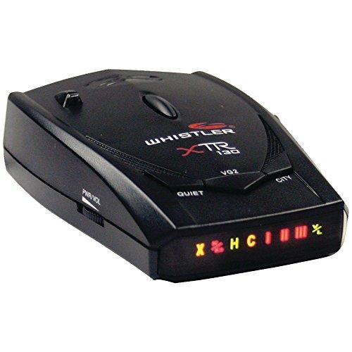 Whistler XTR-130 Laser/Radar Detector with High Gains Lens
