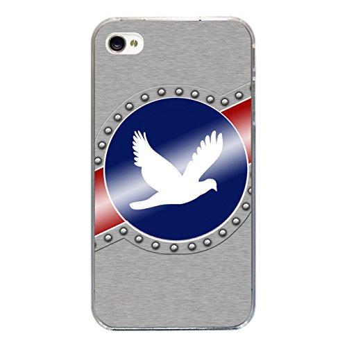 """Disagu Design Case Coque pour Apple iPhone 4s Housse etui coque pochette """"Peace"""""""