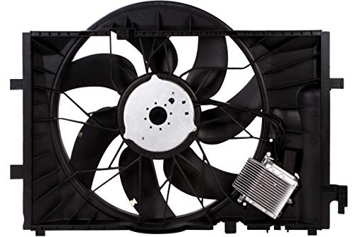 (BOXI Engine Cooling Fan Assembly For Mercedes Benz W203 C230 C240 C209 CLK320 2035000293 )