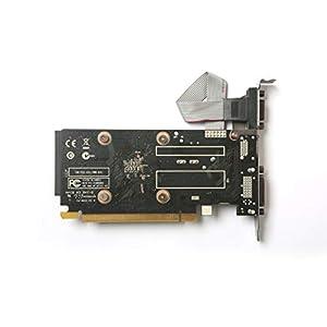 ZOTAC GeForce GT 710 2GB DDR3 PCI-E2.0 DL-DVI VGA HDMI Passive Cooled Single Slot Low Profile Graphics Card (ZT-71302…