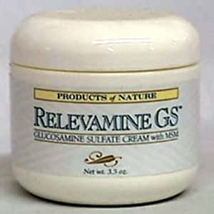 Products Of Nature Relevamine Gs Cream