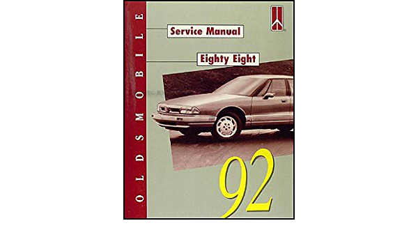 92 1992 Oldsmobile Eighty Eight//88 owners manual