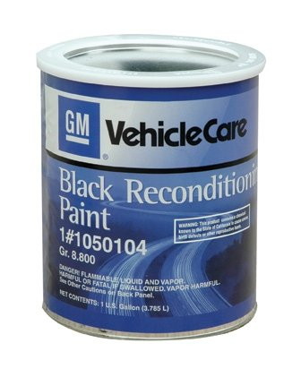Melrose T-Top Int. 1050104 GM Chassis Black Reconditioning Paint (Best Paint For Car Frame)