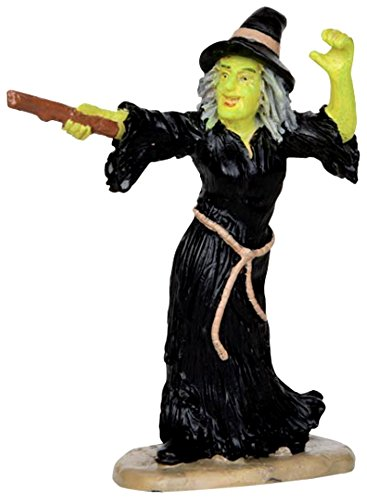 Lemax Spooky Town Witch Casts Spells #32117