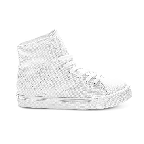 High Style White Cassatta Pastry Unisex White Kids Sneakers Top Fashion 0pEgqTx