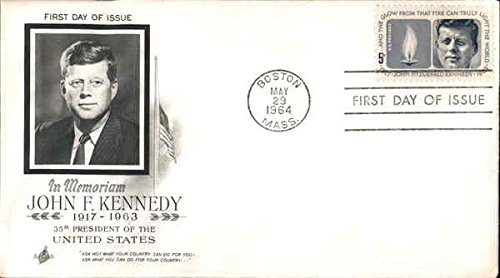 Day Collectible Cover First (In Memoriam John F. Kennedy 1917-1963 35th President of the United States Original First Day Cover)