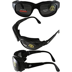 Motorcycle ATV Anti Fog Day Night Biker Goggles Sunglasses 3 Lenses these Are Interchangeable From Goggles to Sunglasses and are Padded on the inside of the frame for comfort