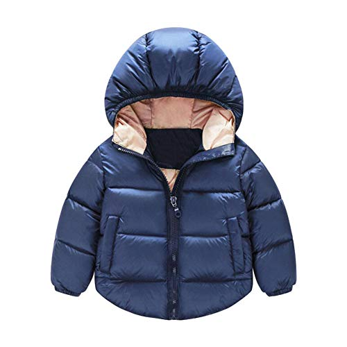 4b65c9d3d chinatera Little Boys Winter Down Jacket Coat Toddlers Warm Zipper ...