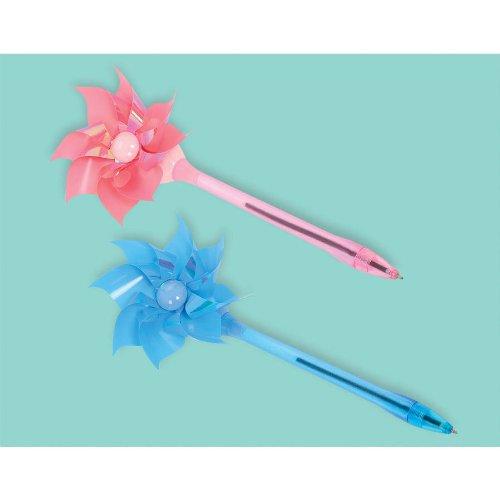 amscan Wind-Up Pinwheel Pen   Easter Favor ()