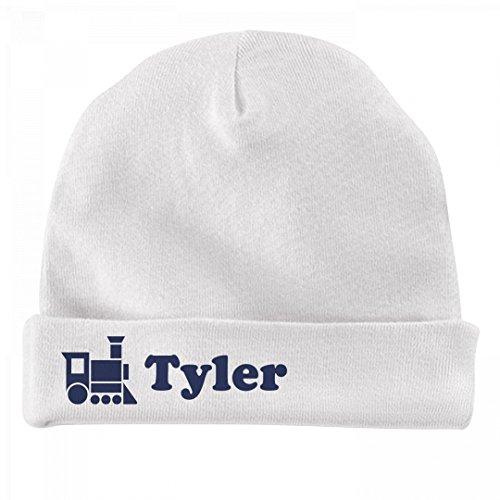 Baby Boy Tyler Train Hat: Infant Baby Hat (Tyler Beanie)