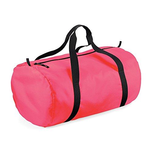 Bag Barrel BagBase Black Fluorescent Packaway Pink q0Rxw0UE