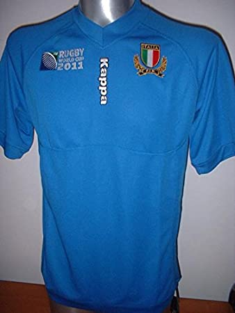 Italy Italia Kappa Rugby Union Adult Large New BNWT Shirt Jersey Top Maglia  EU XL  Amazon.co.uk  Sports   Outdoors 78a4ccaa9