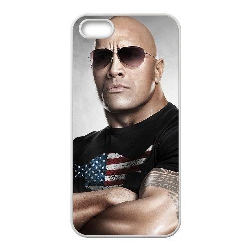 The Rock W12 Wide coque iPhone 4 4S cellulaire cas coque de téléphone cas blanche couverture de téléphone portable EOKXLLNCD20223