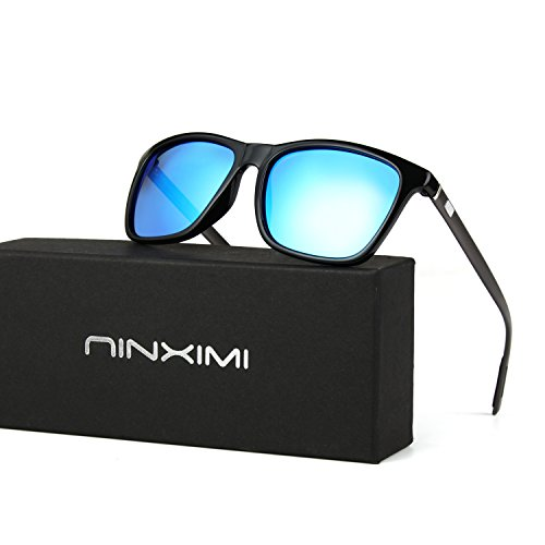 Unisex Polarized Sunglasses-Fashion Sunglasses wish Aluminum Temple UV400  NINXIMI 0fb37ced3ef0