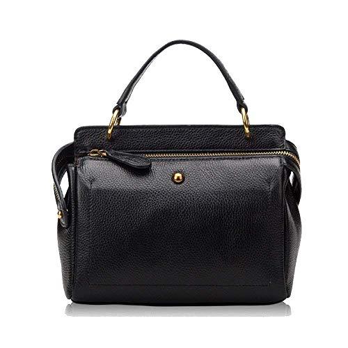 Bolso de Mujer Un Eeayyygch Al tamaño Color Moda Aire Hombro Negro Casual Libre tamaño AaqnnxRp