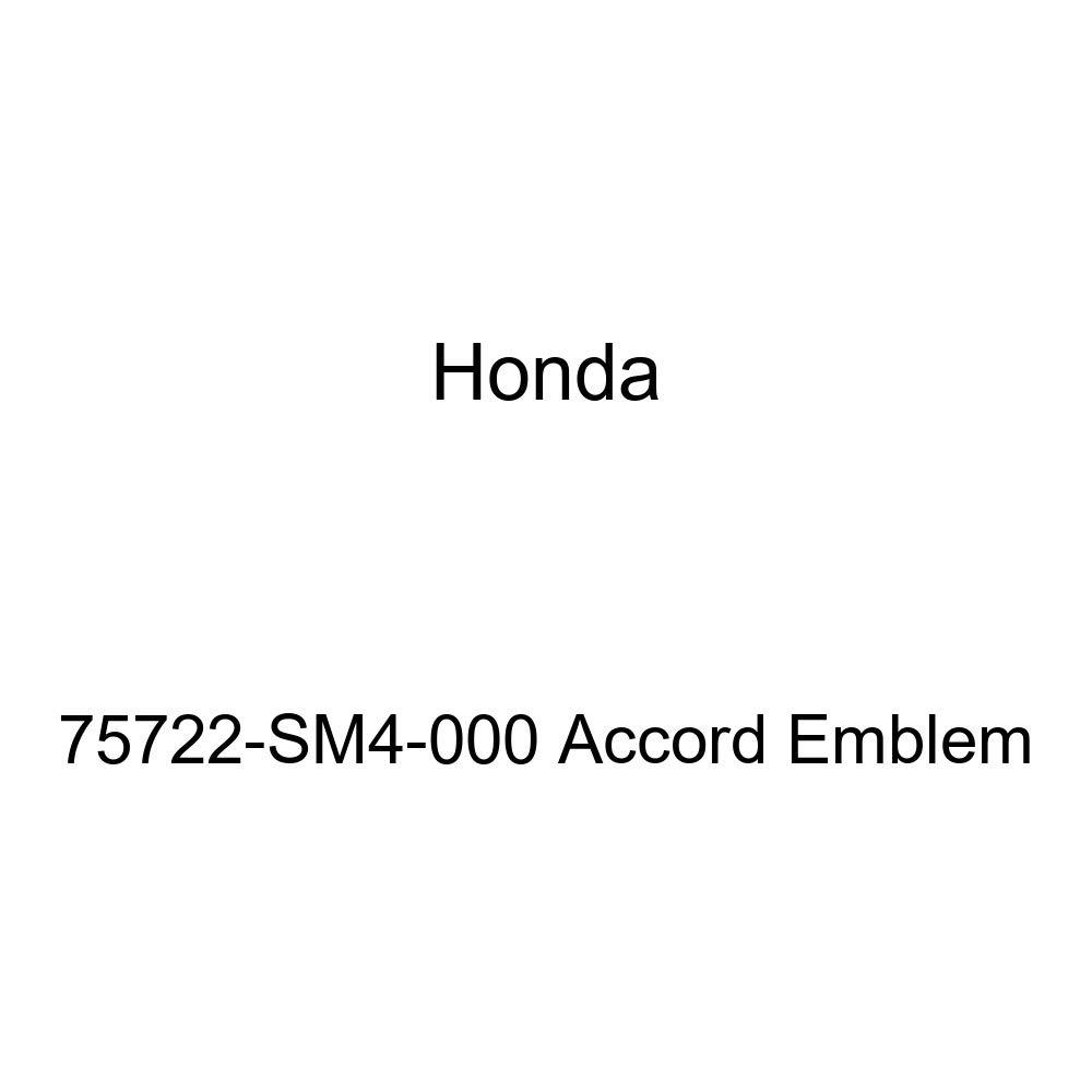 Genuine Honda 75722-SM4-000 Accord Emblem