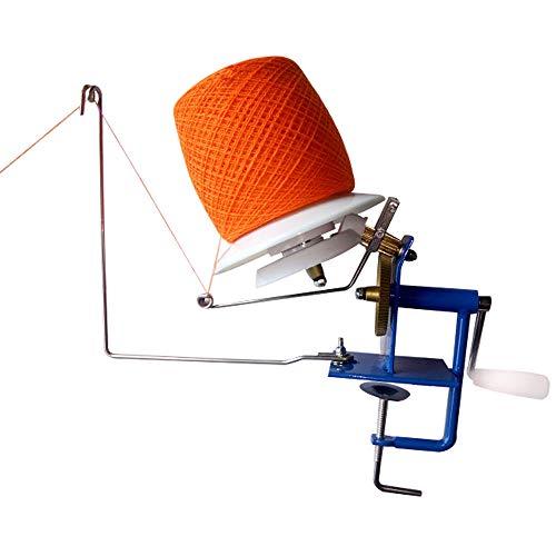 lecraft Metal Yarn Fiber Wool Ball Winder Hand Operated Yarn Ball Winder ()