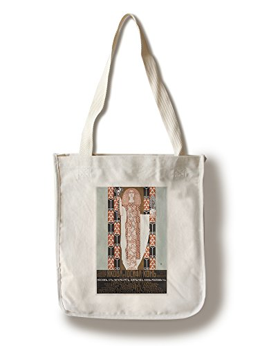 J and J Kohn Furniture Vintage Poster (Artist: Moser) Vienna c. 1908 (100% Cotton Tote Bag - Reusable)