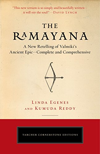 (The Ramayana: A New Retelling of Valmiki's Ancient Epic--Complete and Comprehensive (Tarcher Cornerstone)