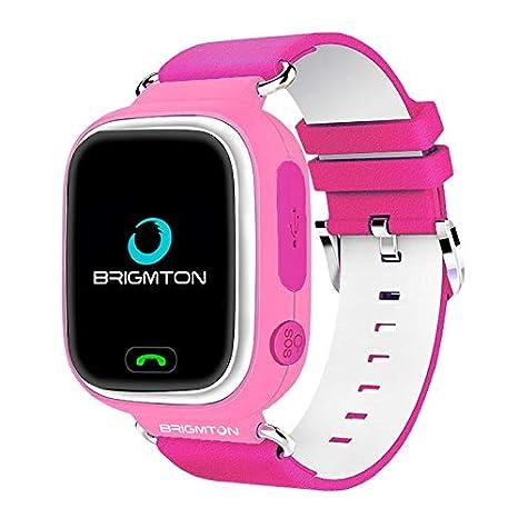 Brigmton BWATCH-Kids SmartWatch GPS, Rosa: Amazon.es ...