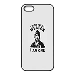 iPhone 5 5s Cell Phone Case Black Chuck Norris BNY_6808968