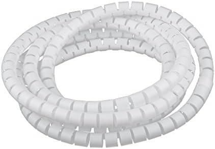 Organizador de Cable Tubo Flexible en Espiral Evuelto para Agrupar ...