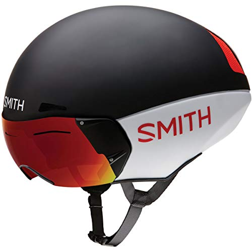 Smith Optics 2019 Podium TT Adult MTB Cycling Helmet - Matte Red/White/Black/Medium