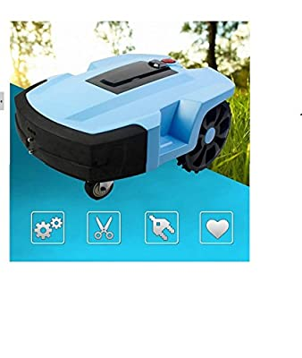 DLPJ Auto Mower Chargeable Smart Lawn Mower Baby Protection and Battrrier Sensor Robotic Mower Waterproof Grass Mower Auto Grass Trimmer Lawn Trimmer