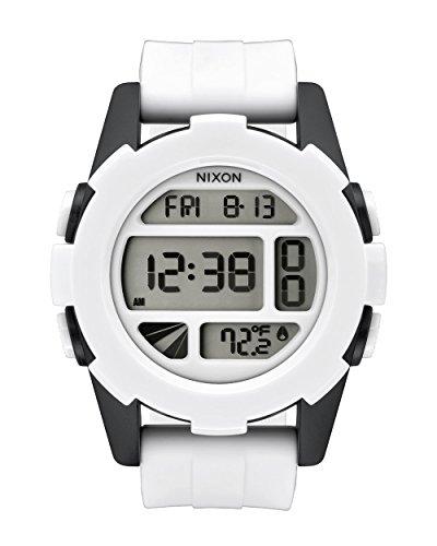 Nixon Men's Watch Unit Stormtrooper White Digital Quartz Silicone A197SW224300