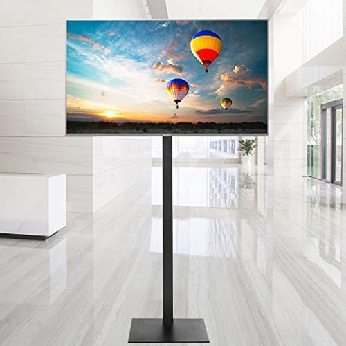 32-65 inch LCD LED Plasma Monitor TV Mount Floor Stand Tilt Swivel AD Display Adjustable Angle