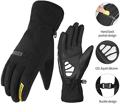 WERNG Guantes Calientes, Guantes Impermeables para Hombres Y ...